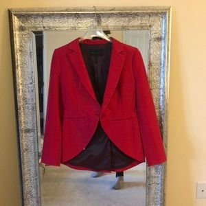 BcbgMaxazria Red flattering jacket